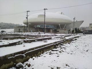 雪の萬画館1